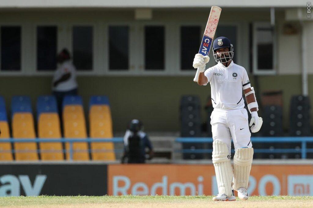WATCH: किस्मत के धनी हैं अजिंक्य रहाणे, आउट होने के बाद भी कर रहे बल्लेबाजी 2