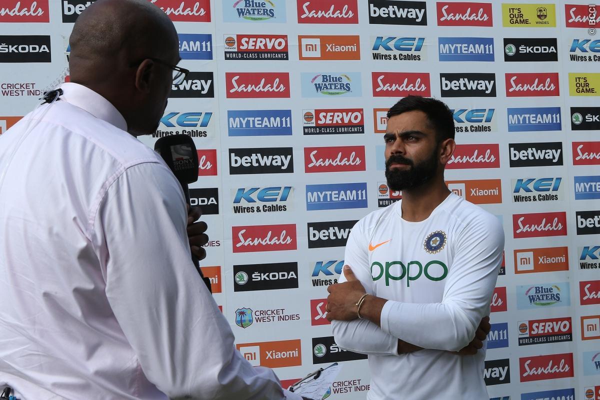 WIvIND, एंटिगा टेस्ट: भारत की 318 रनों की जीत के बाद विराट कोहली ने टीम चयन पर आलोचकों को दिया जवाब 1