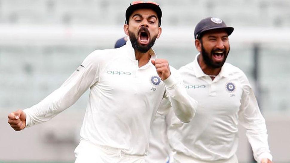 विराट कोहली ने वेस्टइंडीज के खिलाफ जीत के साथ ही महेन्द्र सिंह धोनी की बराबरी तो सौरव गांगुली को छोड़ा पीछे 2