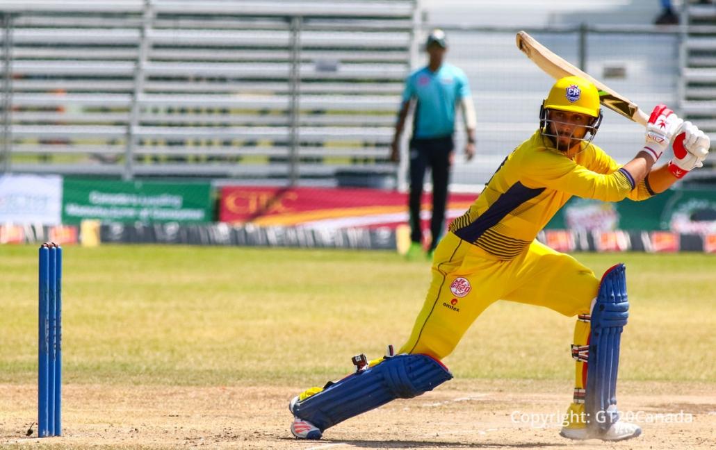 ग्लोबल टी-20 में अंशुमान रथ ने खेली तूफानी पारी, शनिवार रहा भारतीयों के नाम 11