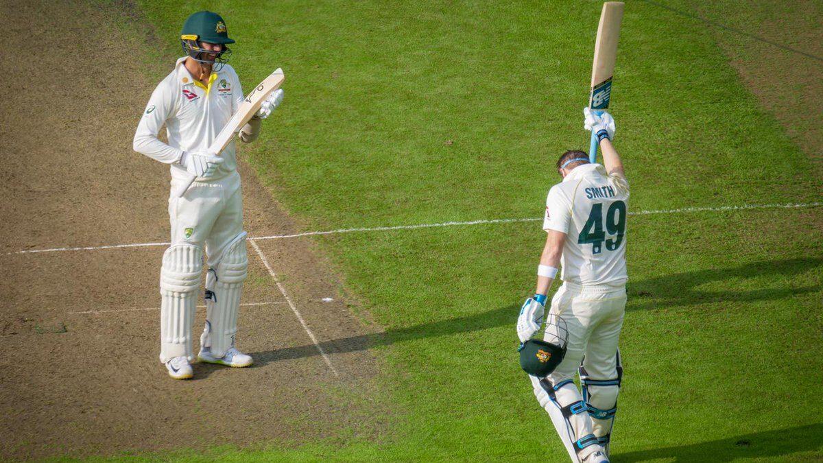 एशेज 2019: एजबेस्टन टेस्ट के पहले दिन स्टीव स्मिथ ने जमाया शतक, ऑस्ट्रेलिया ऑल आउट