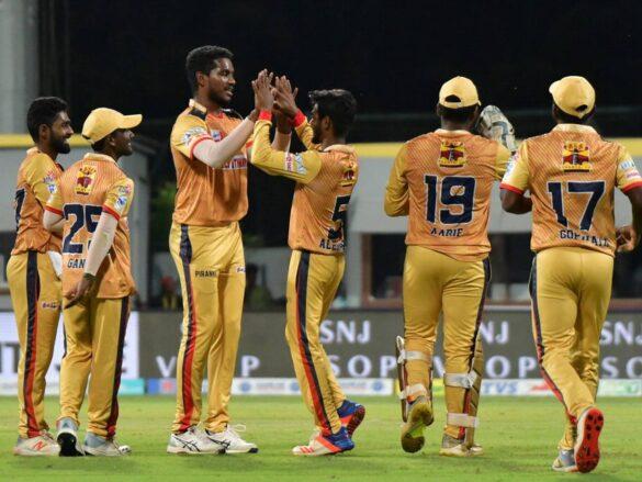 TNPL19- विजय शंकर की धारदार गेंदबाजी से चेपॉक सुपर गिलिज ने अश्विन की डिंगीगुल ड्रेगंस को फाइनल में 12 रन से मात देकर जीता खिताब 7