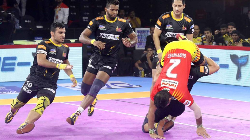 प्रो कबड्डी लीग 2019: गुजरात को 30-24 से हराकर तेलुगु टाइटंस को 7वें मैच में मिली पहली जीत 12