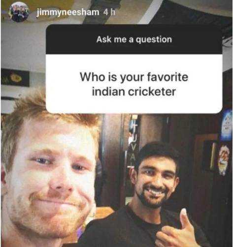 जिमी निशम ने ईश सोढी को बताया अपना पसंदीदा क्रिकेटर, तो भारतीय फैंस ने लगाई फटकार 9