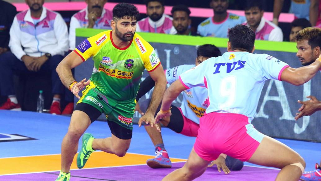 प्रो कबड्डी लीग 2019: पटना पाइरेट्स को पहले घरेलू मुकाबले में ही मिली हार, जयपुर की जीत का सिलसिला जारी 19