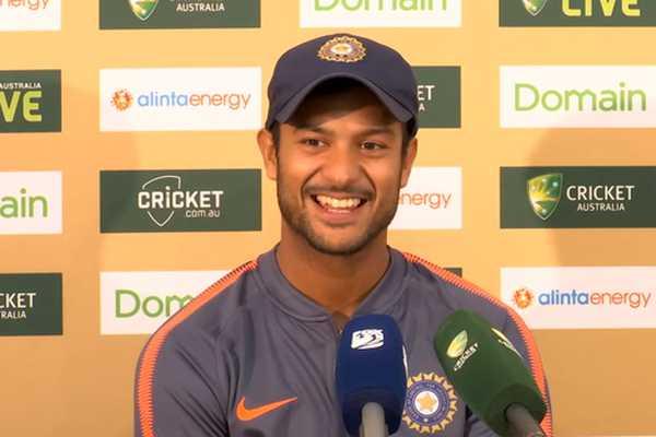 55 रनों की पारी खेलने वाले मयंक अग्रवाल ने कहा वेस्टइंडीज के इस गेंदबाज को खेलना हो रहा था मुश्किल