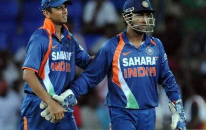 राहुल द्रविड़ की वजह से 25 साल के महेंद्र सिंह धोनी को मिली थी टीम इंडिया की कप्तानी, जाने क्या था सचिन का रोल 1