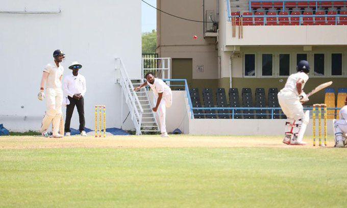 IND A VS WI A: तीसरे टेस्ट मैच के पहले दिन भारत ए की पारी लड़खड़ाई, लेकिन रिद्धीमान साहा चमके 2