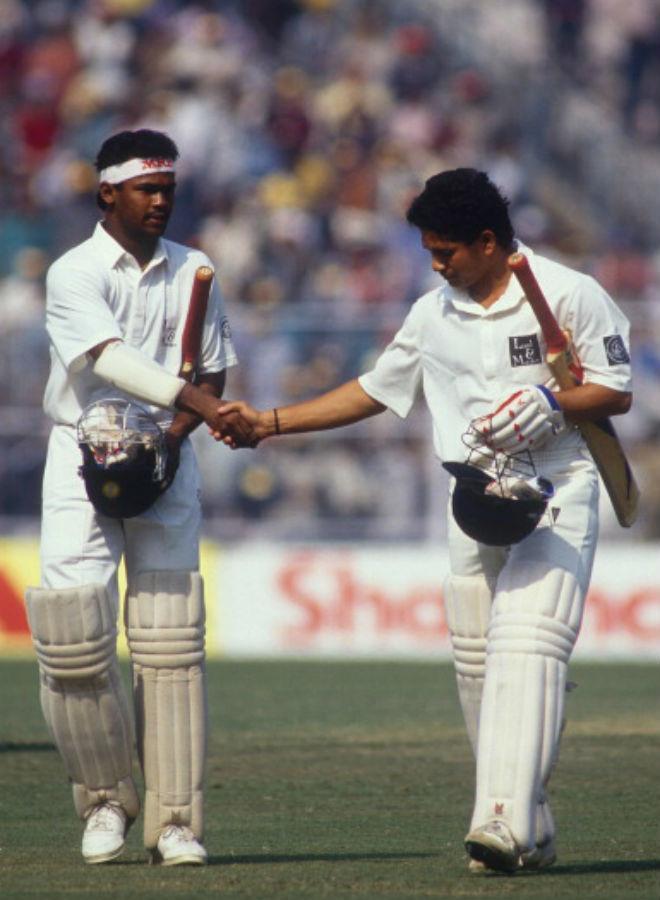 OMG ! टेस्ट क्रिकेट में सचिन तेंदुलकर से बेहतर खिलाड़ी रहे हैं विनोद कांबली, देखें आंकड़े 14