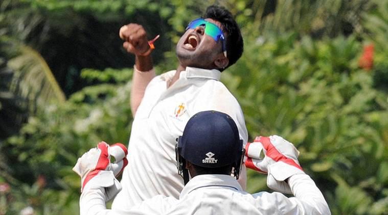 इंडिया ए के लिए हैट्रिक लेने वाले पहले गेंदबाज बने कृष्णप्पा गोतम 5
