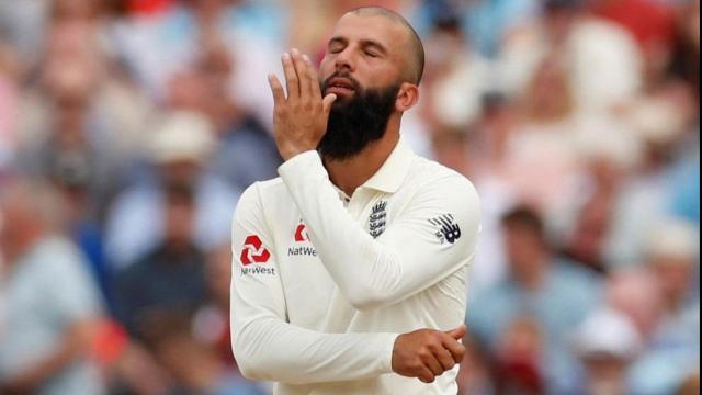 इंग्लिश क्रिकेटर मोईन अली