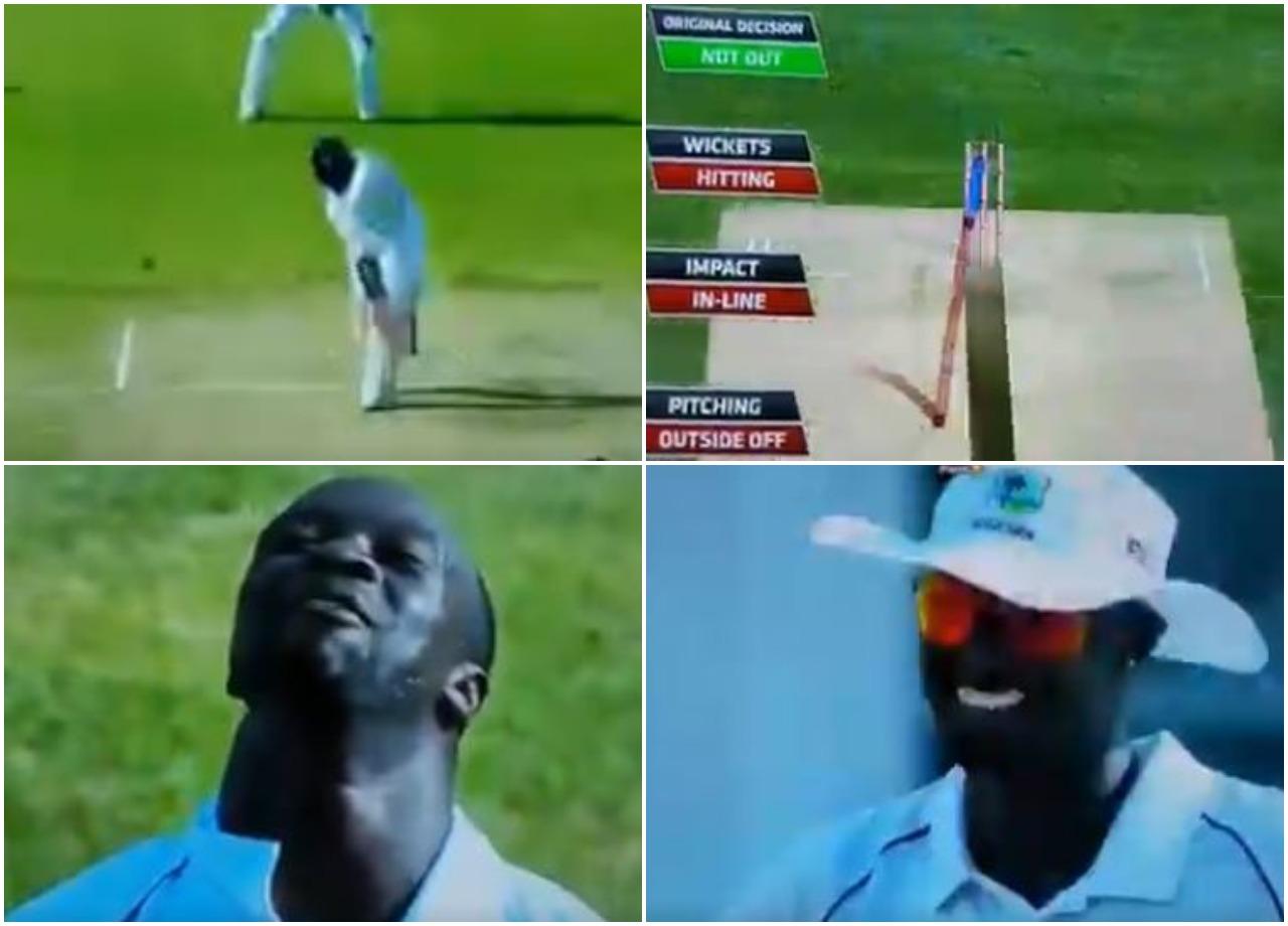WATCH: किस्मत के धनी हैं अजिंक्य रहाणे, आउट होने के बाद भी कर रहे बल्लेबाजी 1