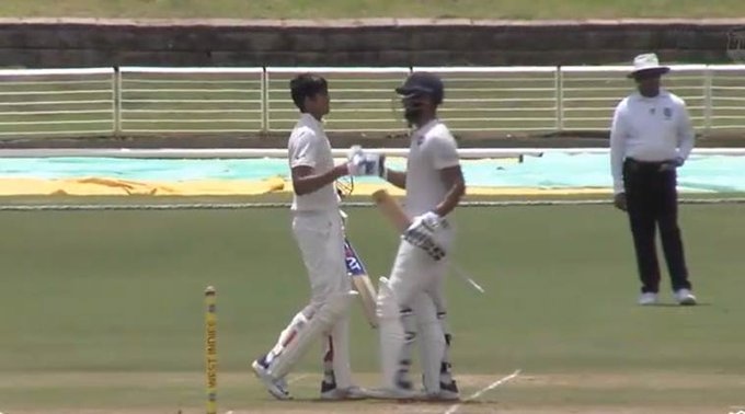 शुभमन गिल के दोहरे शतक के बाद शहबाज नदीम ने की घातक गेंदबाजी, फिर भी वेस्टइंडीज की हुई तारीफ़ 14