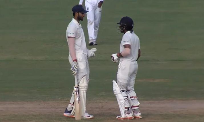 IND A VS WI A: तीसरे टेस्ट मैच के पहले दिन भारत ए की पारी लड़खड़ाई, लेकिन रिद्धीमान साहा चमके 1