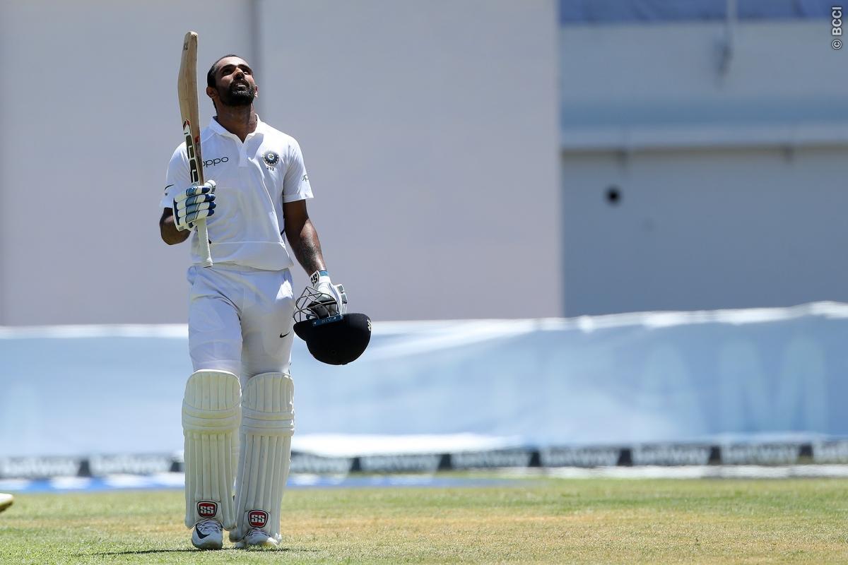 हनुमा विहारी ने कप्तान विराट कोहली नहीं बल्कि टीम से बाहर बैठे रोहित शर्मा को दिया पहला शतक लगाने का श्रेय 1