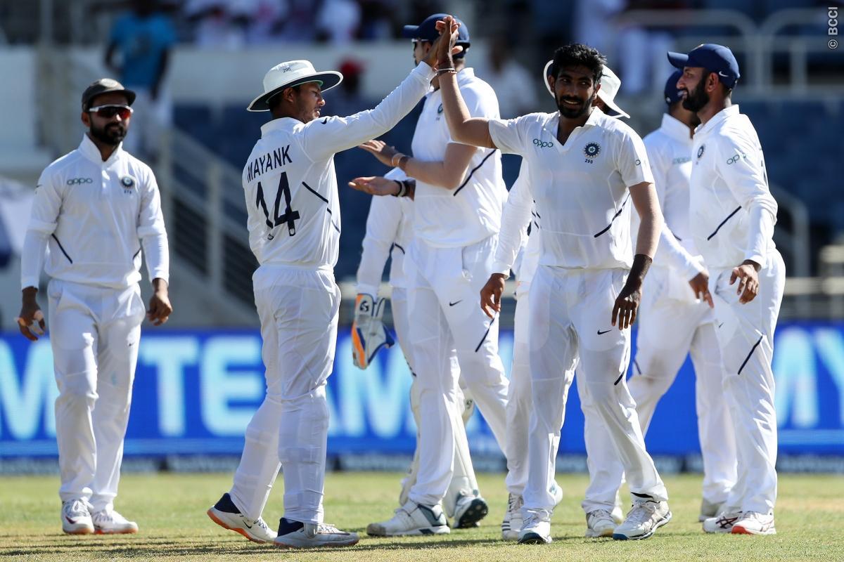 INDvsWI : STATS : मैच के दूसरे दिन बने 10 रिकॉर्डस, जसप्रीत बुमराह ने बना डाले कई विश्व रिकॉर्ड 1