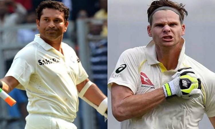 सबसे तेज 26 टेस्ट शतक जड़ने वाले दूसरे बल्लेबाज बने स्टीव स्मिथ, सचिन तेंदुलकर को छोड़ा पीछे 1