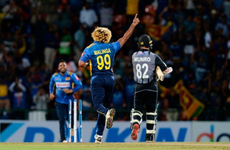 न्यूजीलैंड के खिलाफ 2 विकेट के साथ ही लसिथ मलिंगा बने टी20 इंटरनेशनल क्रिकेट में सबसे ज्यादा विकेट लेने वाले गेंदबाज 9