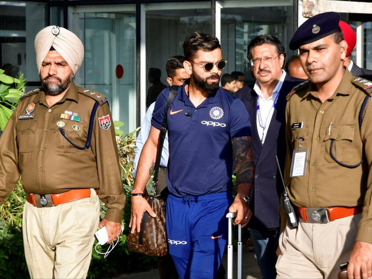 IND vs SA: बीसीसीआई की वजह से चंडीगढ़ में विराट कोहली और टीम इंडिया को जान का खतरा, पुलिस ने सुरक्षा देने से किया मना 1