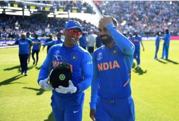 विराट कोहली ने कहा धोनी के कहने पर ही बीसीसीआई ने मुझे बनाया टीम इंडिया का कप्तान 11