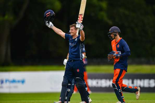 SCO vs NED : ट्राई सीरीज के पांचवे मुकाबले में स्कॉटलैंड ने नीदरलैंड को 6 विकेट से हराया 2