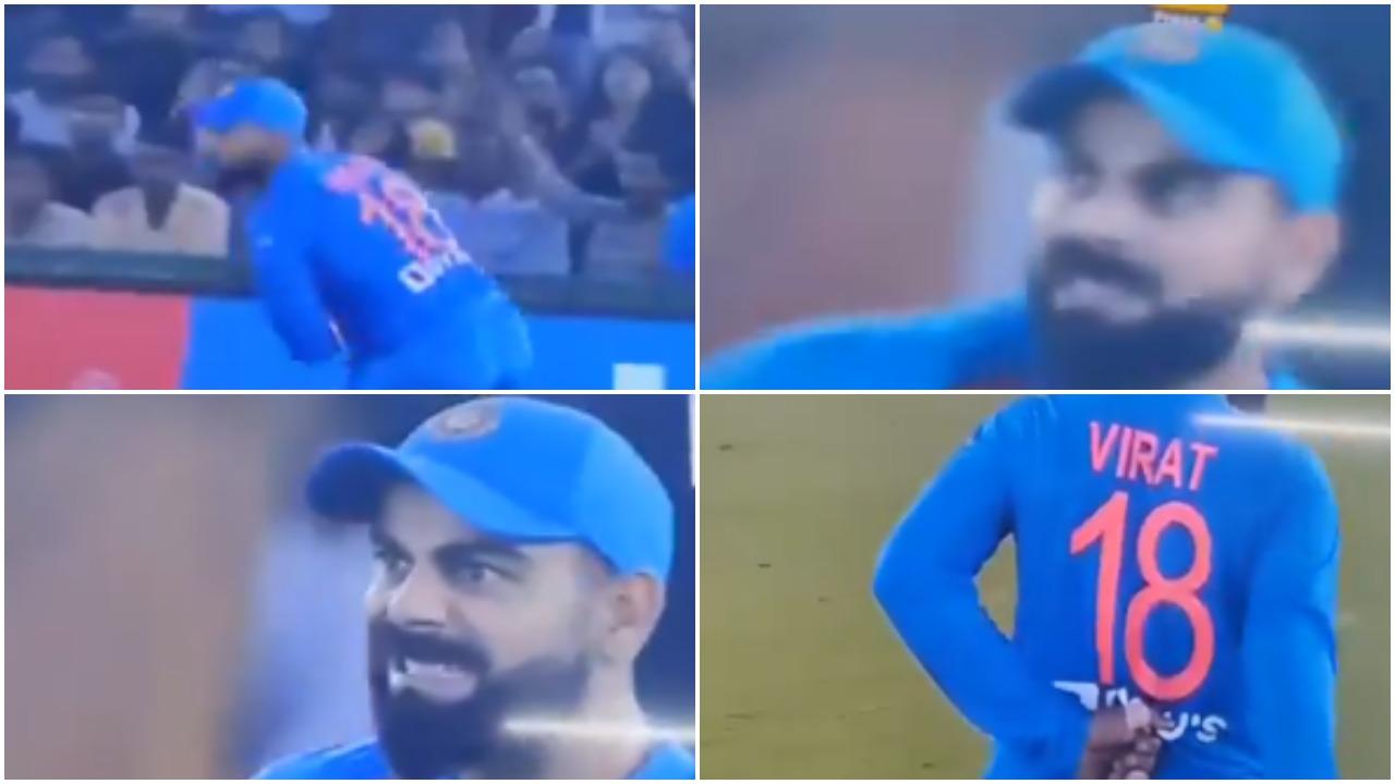 WATCH: भारतीय फैंस के लिए बुरी खबर, विराट कोहली टी-20 मैच के दौरान हुए चोटिल 1