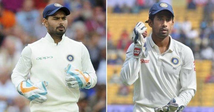 रिद्धिमान साहा का पंत को टारगेट करते हुए विवादित बयान, 'विकेटकीपिंग सिर्फ स्पेशलिस्ट विकेटकीपर का काम' 14