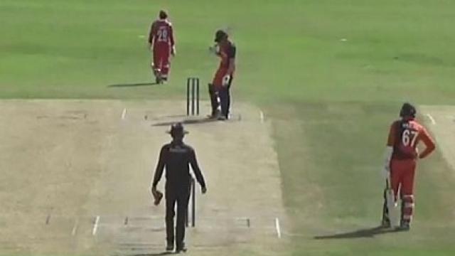 W W W हैट्रिक लेकर ओमान के इस गेंदबाज ने दिग्गजों की लिस्ट में दर्ज कराया अपना नाम 1