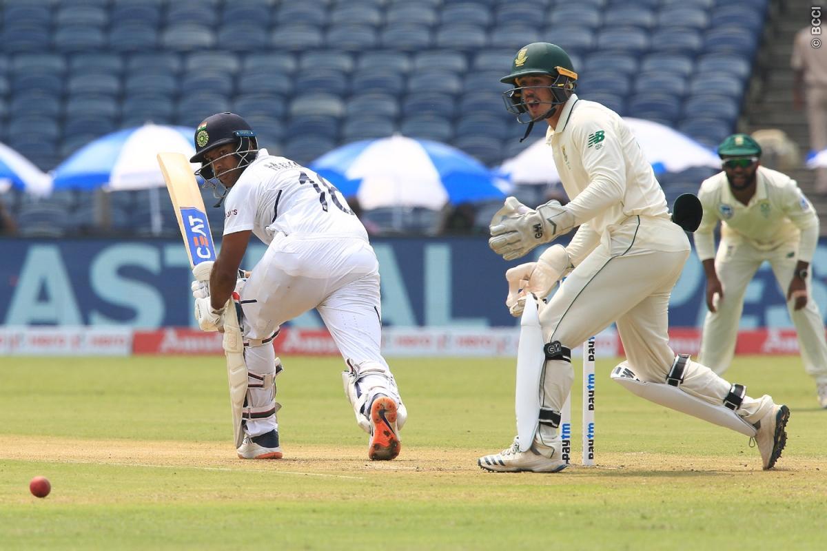 IND vs SA : 273 रन बना मजबूत स्थिति में पहुंचा भारत, अजिंक्य रहाणे को हुई परेशानी से 5 ओवर पहले ही विराट ने खत्म कराया दिन का खेल 1
