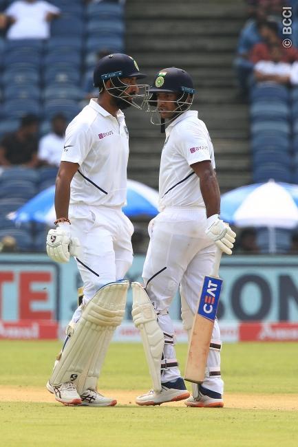 IND vs SA : 273 रन बना मजबूत स्थिति में पहुंचा भारत, अजिंक्य रहाणे को हुई परेशानी से 5 ओवर पहले ही विराट ने खत्म कराया दिन का खेल 3
