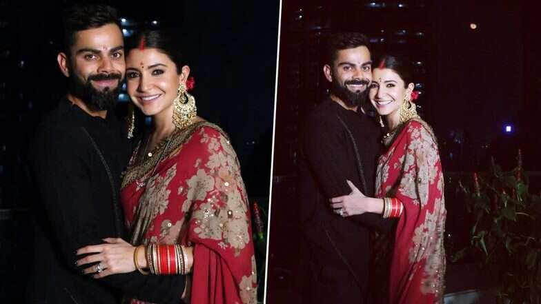 विराट कोहली, अनुष्का शर्मा सहित भारतीय क्रिकेटरों ने अपनी पत्नी के साथ ऐसे मनाया करवा चौथ, देखे तस्वीरें 1