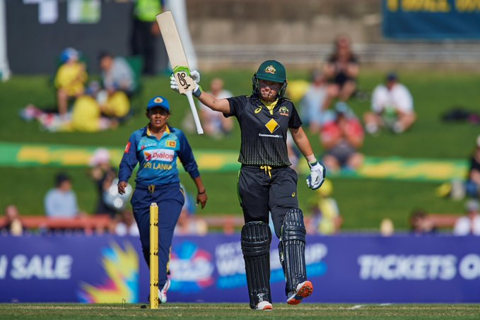 ऑस्ट्रेलिया के एलिसा हिली ने श्रीलंका के खिलाफ बनाया रिकॉर्ड जो आज तक जोस बटलर और महेंद्र सिंह धोनी भी नहीं कर पायें 1