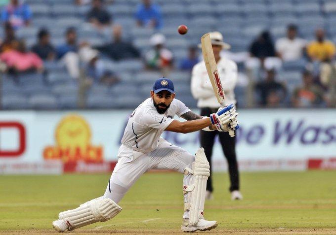 INDvSA, दूसरा टेस्ट: भारतीय टीम ने बनाये 473 रन, दोहरे शतक की तरफ विराट 17