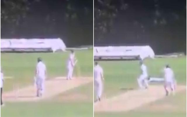 क्लब क्रिकेट में एक मैच के दौरान हुआ अनोखे अंदाज में रन आउट, यहाँ देखें वीडियो 1