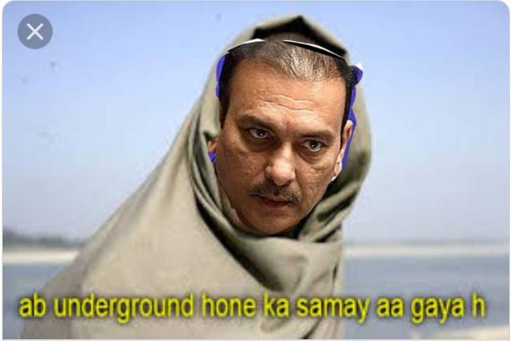 सौरव गांगुली का BCCI अध्यक्ष बनना हुआ तय, तो लोगो ने जमकर उड़ाया रवि शास्त्री का मजाक 1