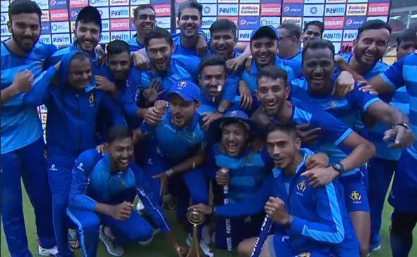 विजय हजारे ट्रॉफी 2019-20: तमिलनाडु को 60 रनों से हराकर कर्नाटक ने अपने नाम किया टूर्नामेंट 13