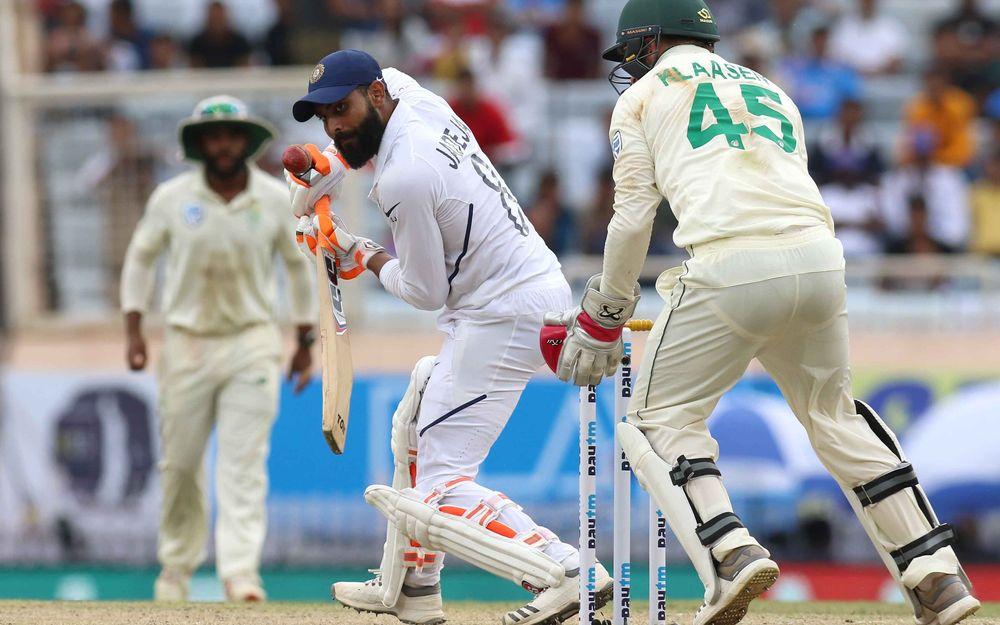 INDvSA, तीसरा टेस्ट: रोहित शर्मा के दोहरे शतक और उमेश यादव के छक्कों की बौछार के बाद भारत ने घोषित की पारी 3