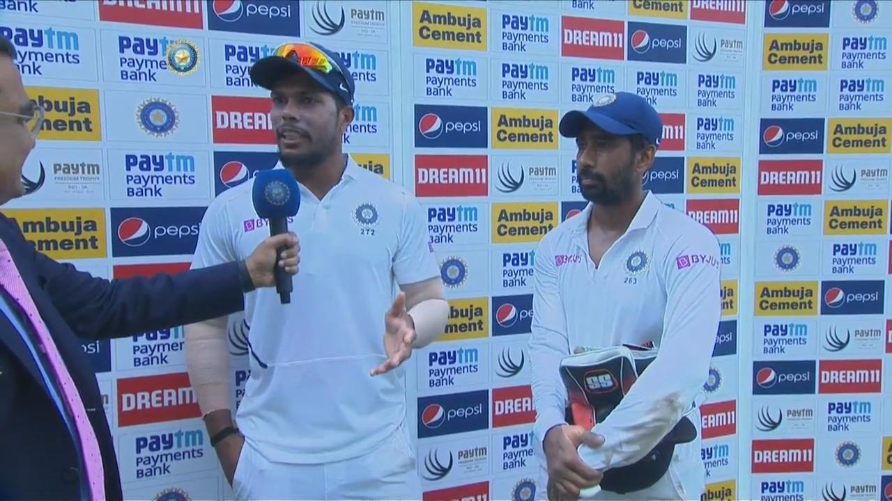 INDvsSA: दूसरे टेस्ट मैच में जीत के बाद ऋद्धिमान साहा-उमेश यादव ने बताया अपने शानदार प्रदर्शन का राज़ 8