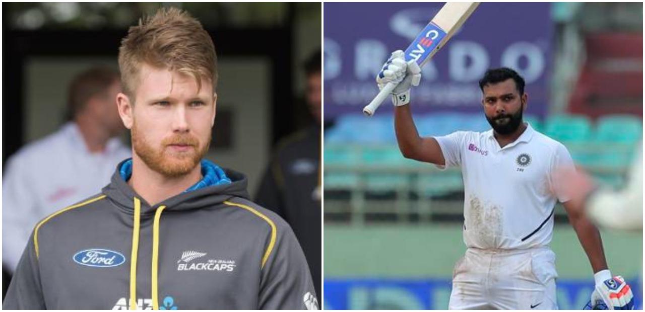 टेस्ट में सलामी बल्लेबाजी करते हुए रोहित शर्मा ने लगाई रिकॉर्ड की झड़ी, तो जिमी निशम ने किया ये कमेंट 7