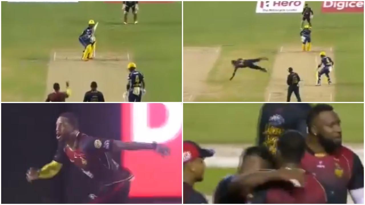 क्रिस जॉर्डन ने अपनी ही गेंद पर लपका सांसे थाम देने वाला कैच, देखें वीडियो 7