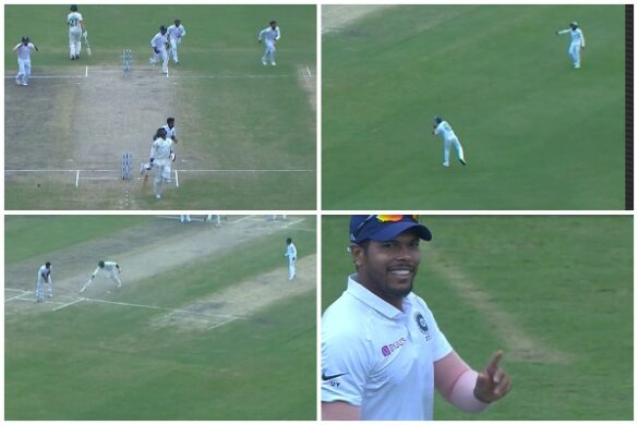 वीडियो : बल्लेबाजी और गेंदबाजी के बाद फील्डिंग में भी छाएं उमेश यादव, किया अद्भुत रन आउट 26