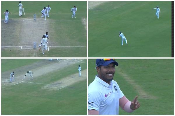 वीडियो : बल्लेबाजी और गेंदबाजी के बाद फील्डिंग में भी छाएं उमेश यादव, किया अद्भुत रन आउट 1