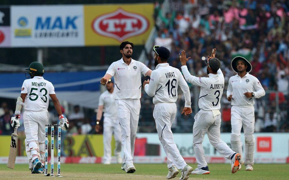INDvBAN, दूसरा टेस्ट: भारत ने डे-नाइट टेस्ट को पारी और 46 रनों से अपने नाम किया 2