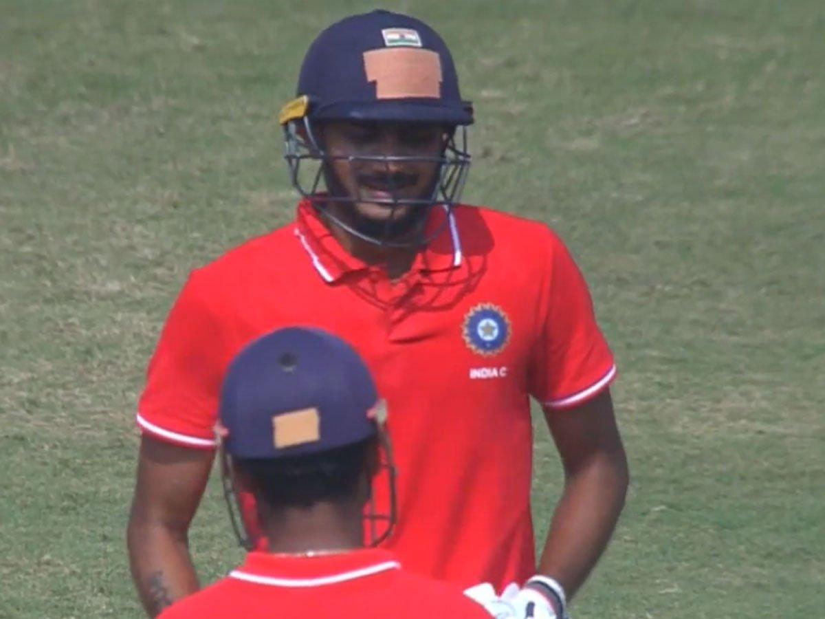 देवधर ट्रॉफी 2019-20: इंडिया सी ने इंडिया बी को दी करारी शिकस्त, मार्कंडे और अक्षर चमके 10