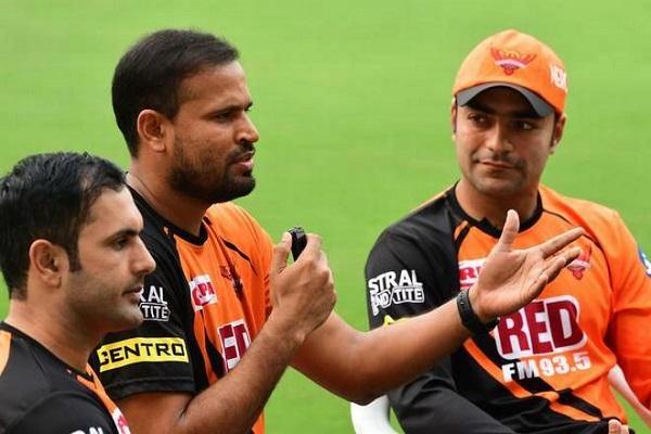 """युसूफ पठान के शानदार कैच पर राशिद खान ने ली चुटकी """"ये पठान के हाथ हैं ठाकुर"""" 1"""