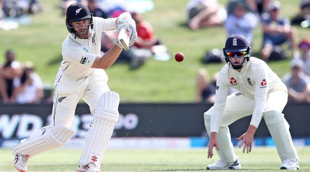 NZ vs ENG : दूसरे टेस्ट मैच में बारिश के बीच टॉम लाथम का शतक, ऐसा रहा पहले दिन का हाल 2