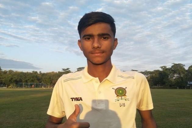 निर्देश बैसोया ने अंडर-16 विजय मर्चेंट ट्रॉफी में चटकाए पारी में 10 विकेट 15