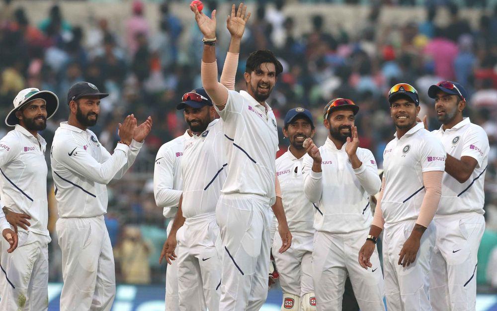 INDvBAN, दूसरा टेस्ट: 106 पर सिमटी बांग्लादेश की पारी, भारत को भी शुरुआती झटका 6