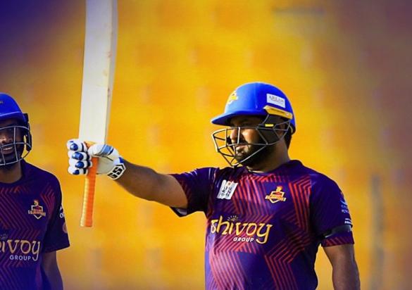 टी-10 लीग: मोहम्मद शहजाद की विस्फोटक बल्लेबाज से जीता डेक्कन ग्लैडिएटर्स 8