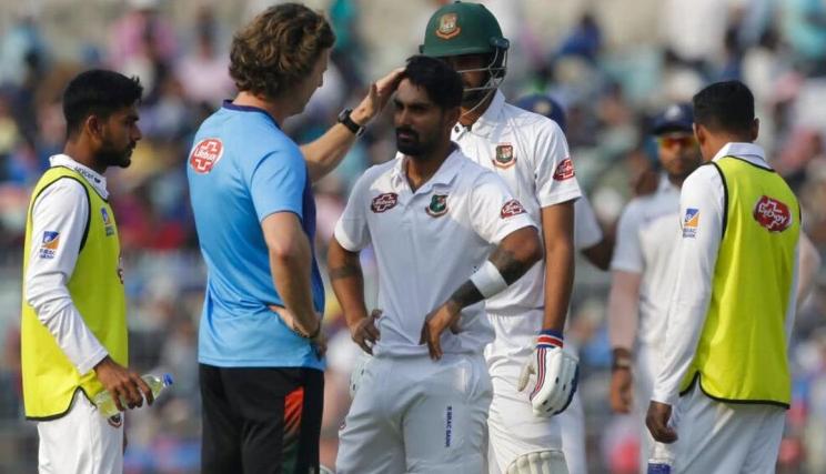 बांग्लादेश को मिला दो कन्कशन सब्स्टिट्यूट, लेकिन इस कारण गेंदबाजी नहीं करेंगे मेहदी हसन 5